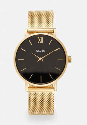 MINUIT - Orologio - gold-coloured/black