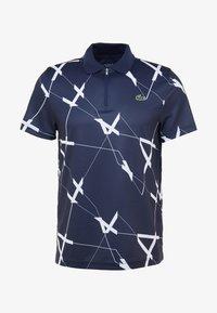 Lacoste Sport - TENNIS GRAPHIC - Piké - navy blue/white - 4