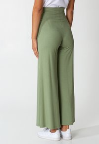 Indiska - LILLEMOR - Trousers - green - 3