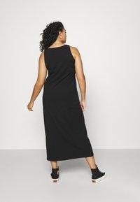 Mamalicious Curve - MLSIA TANK MAXI DRESS - Maxi dress - black - 2