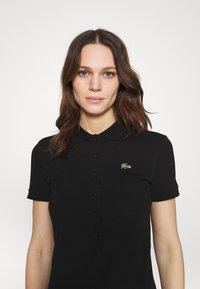 Lacoste LIVE - Shift dress - black - 4