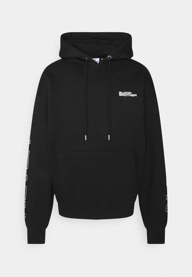 MORTON GROVE HOOD UNISEX - Sweatshirt - black