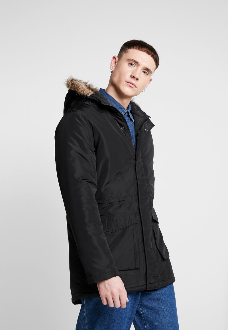 Only & Sons - ONSERIC HOOD PARKA  - Parka - black