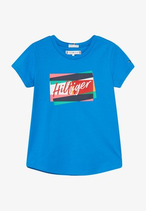 FUN FLAG TEE - T-shirt print - blue