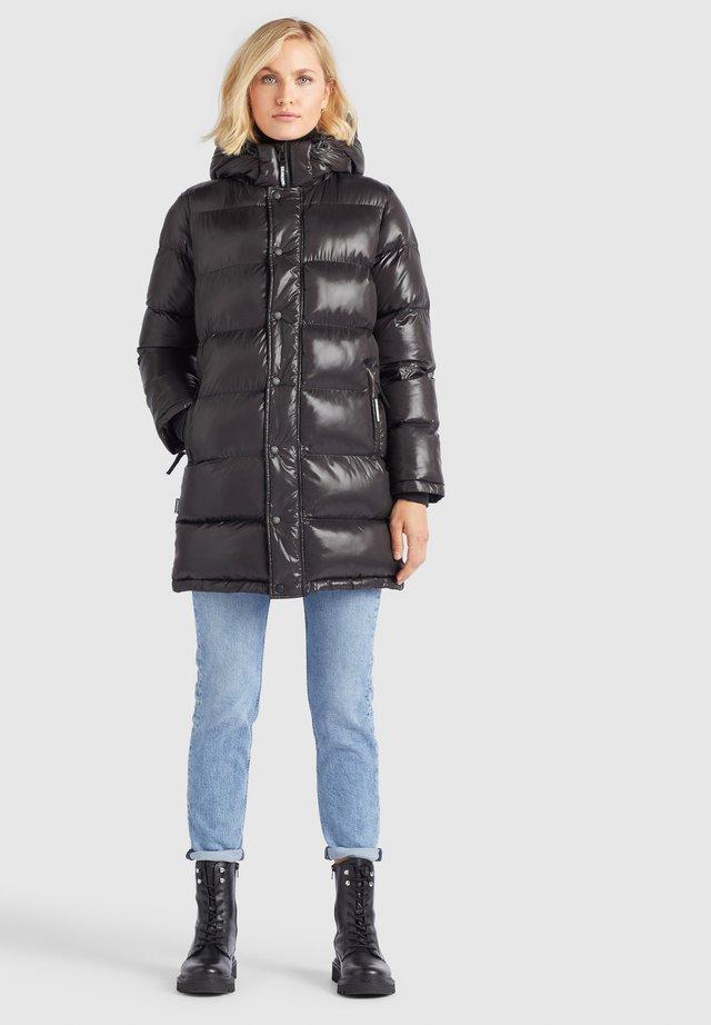 RILANA - Winter coat - schwarz