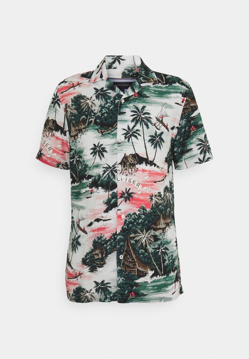 Tommy Hilfiger - HAWAIIAN - Shirt - sunset peach