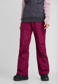 Wearcolour - FINE PANT - Skibukser - tibetan red - 0