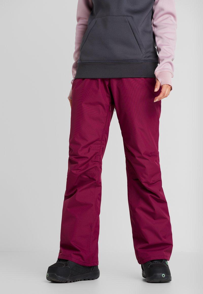 Wearcolour - FINE PANT - Skibukser - tibetan red