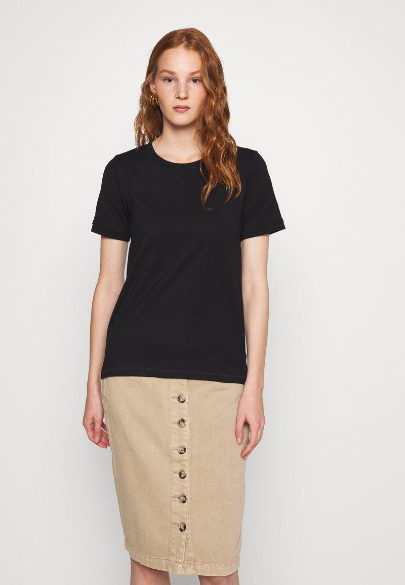 Zign - Basic T-shirt - black