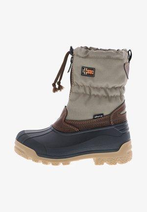 Winter boots - jute