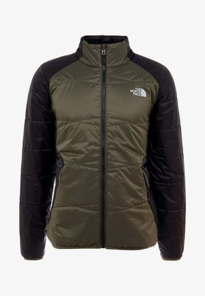 QUEST  - Outdoorová bunda - new taupe green/black