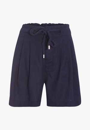 CACHE GERADE SHORTS  - Shorts - bleu marine