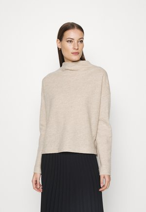 KNIT - TURTLENECK - Jumper - beige medium