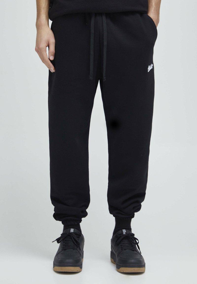 PULL&BEAR - Verryttelyhousut - mottled black