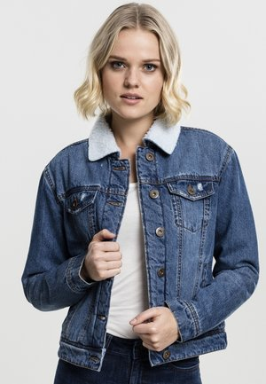 Denim jacket - blue washed