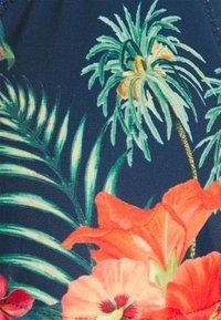 Brunotti - LOLLYPOP FLOWER WOMENS SET - Bikini - deep blue - 7