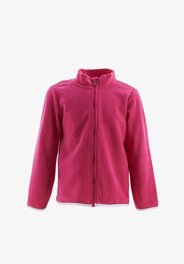 Fleece jacket - pink
