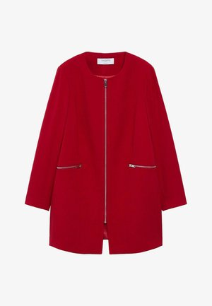 SILVIA - Manteau court - rouge