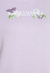 Hollister Co. - PRINT LOGO - Hoodie - purple - 2