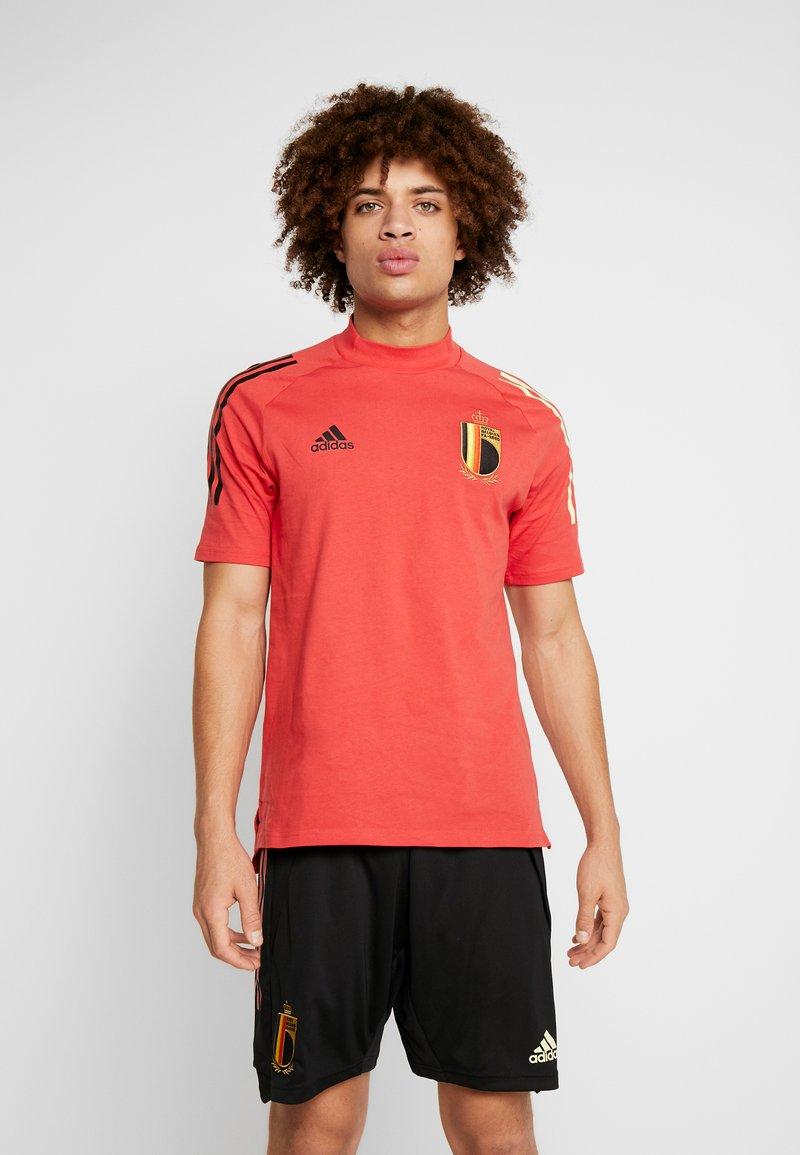 adidas Performance - BELGIUM RBFA - Landslagströjor - glory red