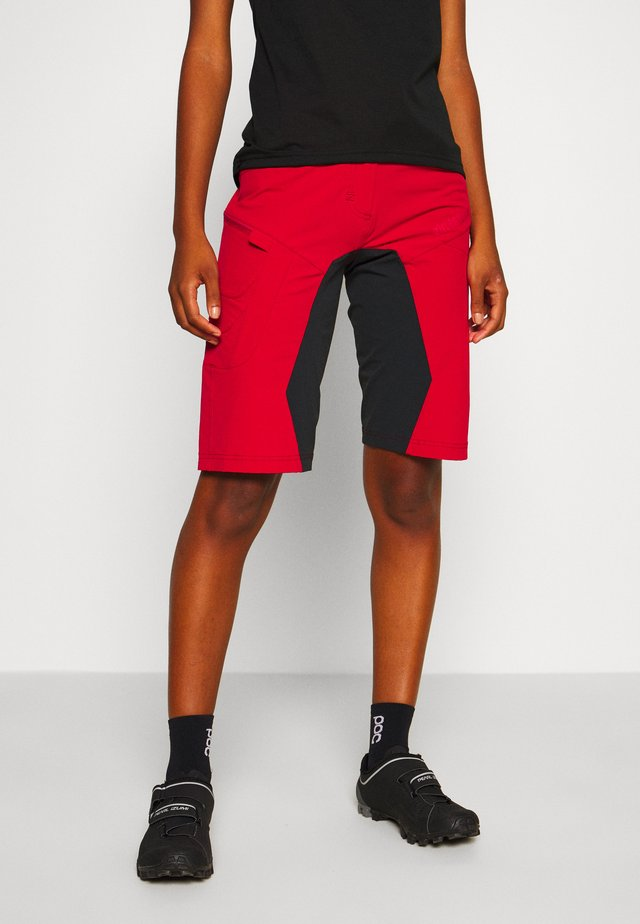 TAILA EVO SHORT ´ - Pantaloncini sportivi - jester red/pirate black