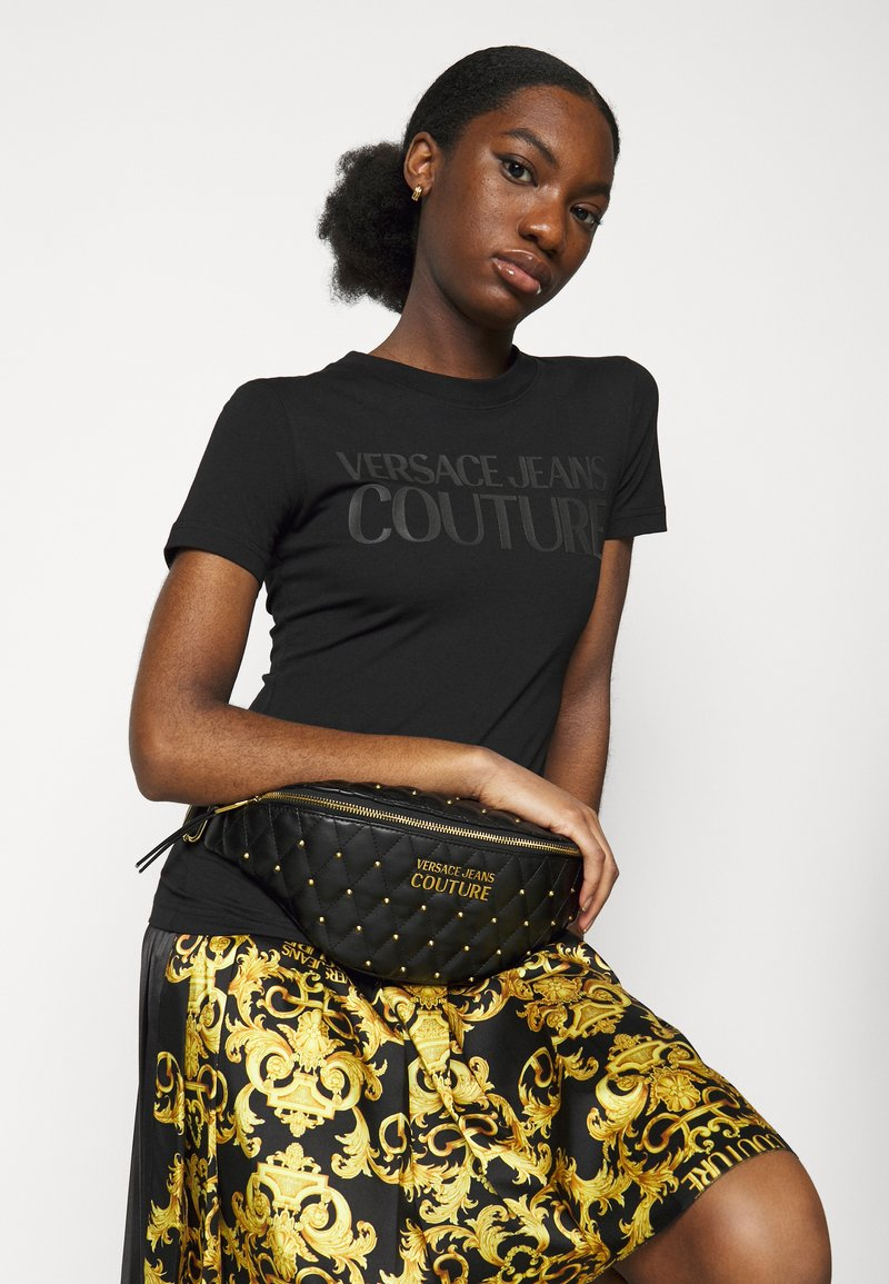 Versace Jeans Couture - MALLORY BELTBAG - Bum bag - nero