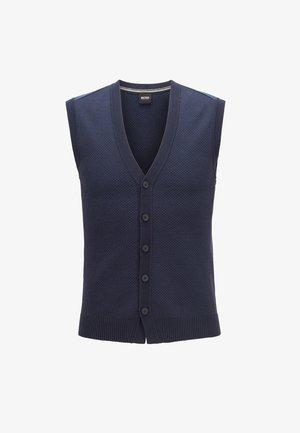 KHYR - Waistcoat - dark blue