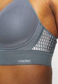 triaction by Triumph - HYBRID LITE - Sportovní podprsenky s lehkou oporou - grey - 6