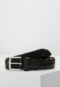 Anderson's - WOVEN BELT - Braided belt - black - 0
