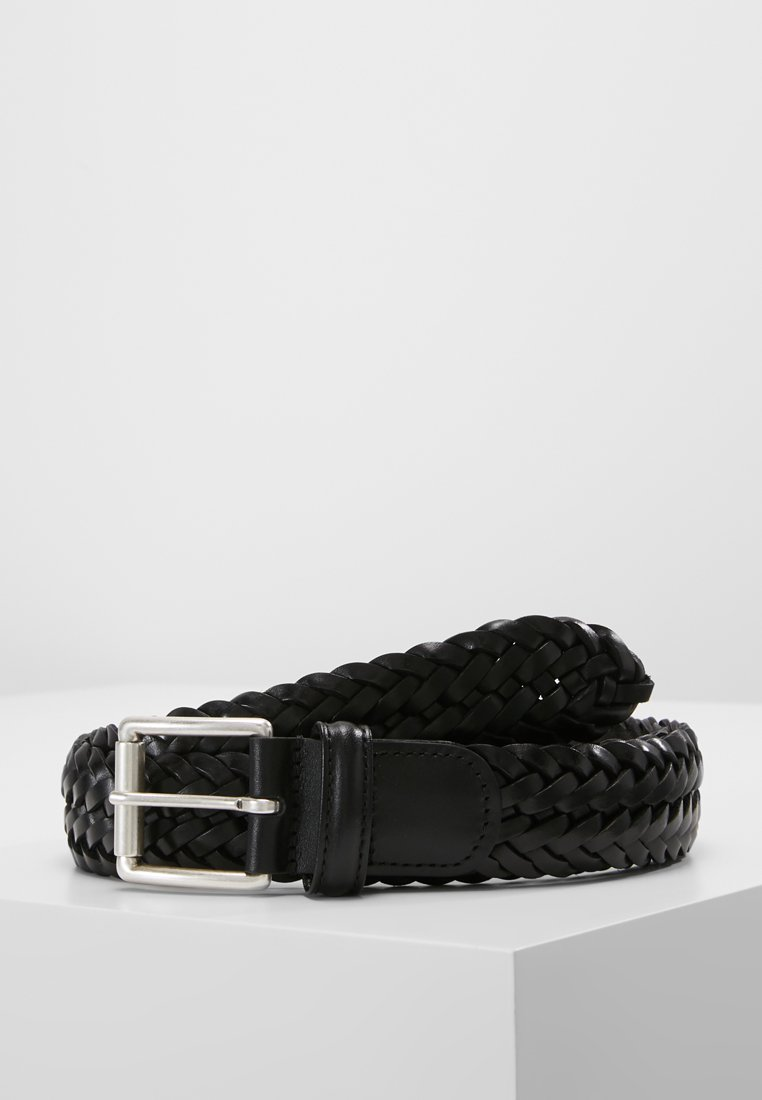 Anderson's - WOVEN BELT - Braided belt - black