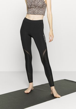 ONPALANI 7/8 TRAINING  - Tights - black/white