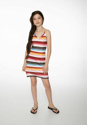 Jersey dress - clay