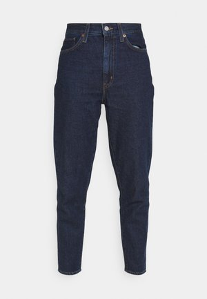 HIGH WAISTED MOM JEAN - Jeans Tapered Fit - ocean