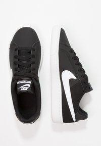 Nike Sportswear - COURT ROYALE - Trainers - black/white - 1