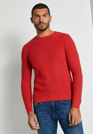 Pullover - powerful red
