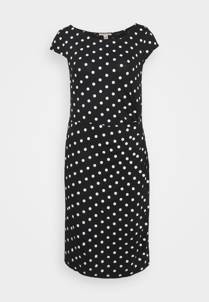 Anna Field - Vestido de tubo - black/white