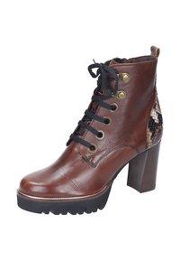 Maripé - Lace-up ankle boots - cognac/rovere - 1