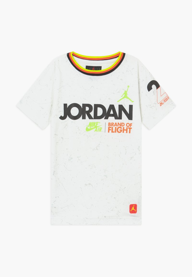 Jordan - SCHOOL OF FLIGHT TEE - Print T-shirt - white