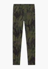 Ellesse - BRULAN PERFORMANCE LEGGING - Punčochy - dark green - 1