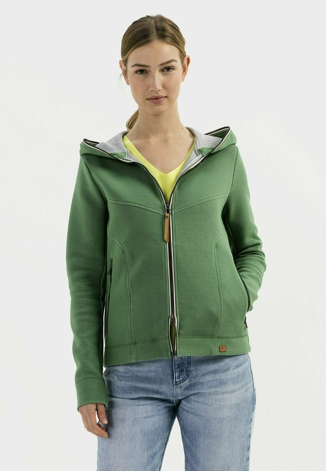 SCUBA - Zip-up sweatshirt - green