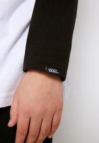 Vans - CLASSIC RAGLAN BOYS - Long sleeved top - white/black - 5