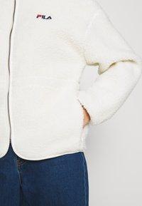 Fila - SARI SHERPA JACKET - Winter jacket - eggnog - 3