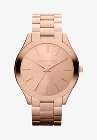 Michael Kors - SLIM RUNWAY - Zegarek - rosegold-coloured - 0