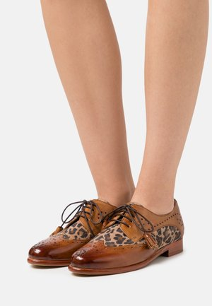 SELINA 41 - Lace-ups - tan/beige/sand/rich tan/natural