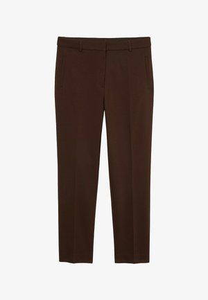 Desi - Trousers - dark brown