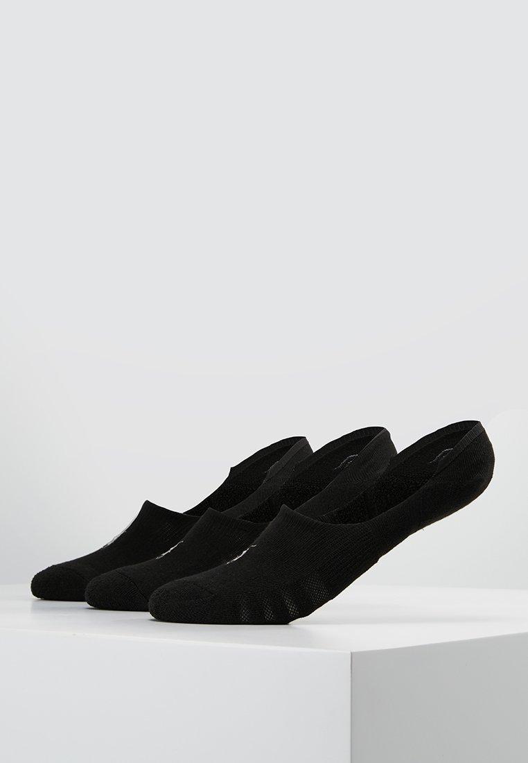 Polo Ralph Lauren - POLY BLEND 3 PACK - Trainer socks - black/white