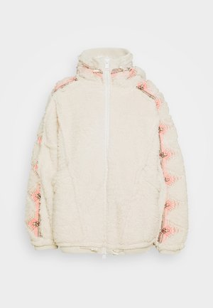 LODGE LIVIN JACKET - Treningsjakke - natural/pink combo