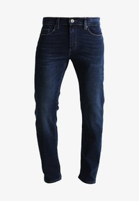 Pier One - BASIC - Straight leg jeans - dark blue denim - 5