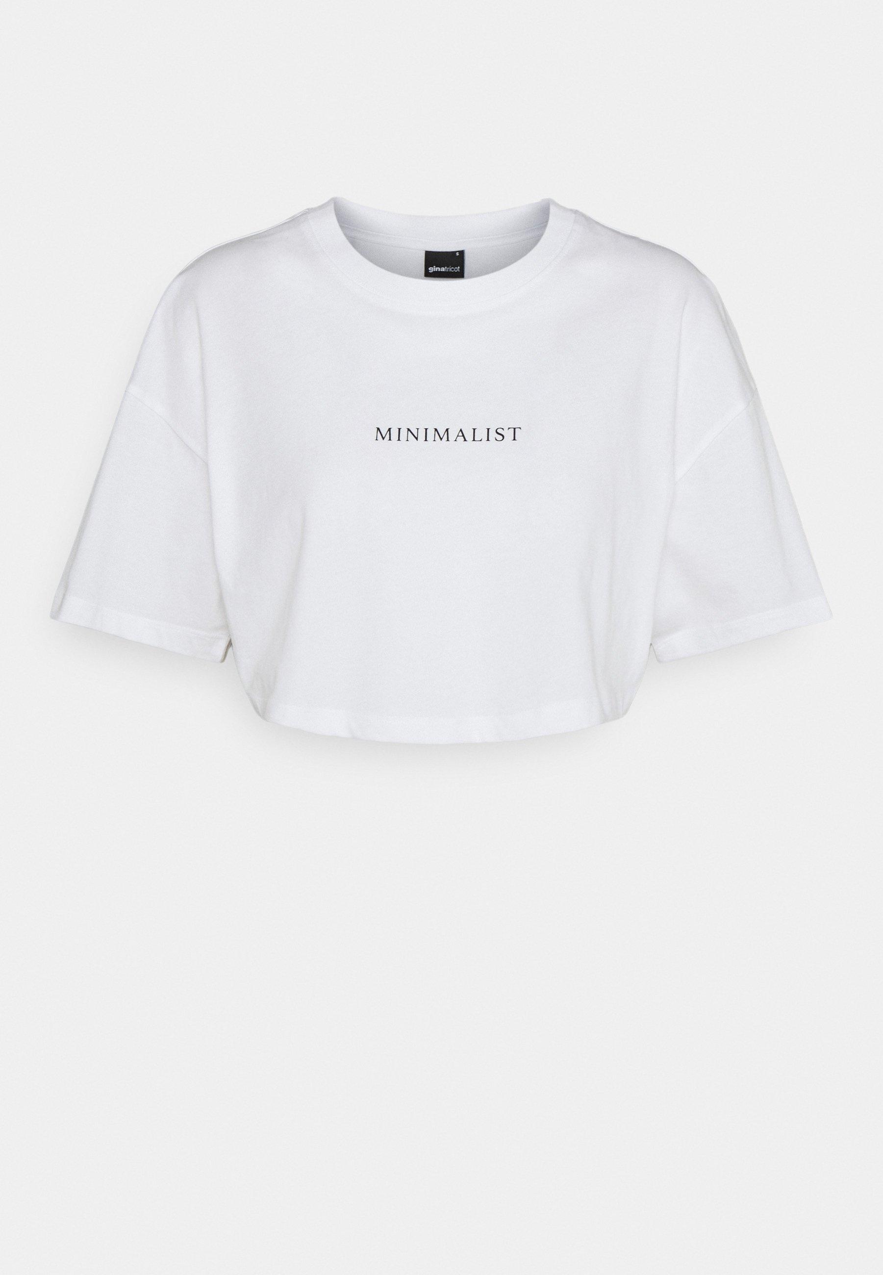 Damen HOLLY CROPPED TEE - T-Shirt print