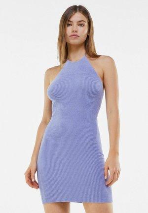 Gebreide jurk - mauve